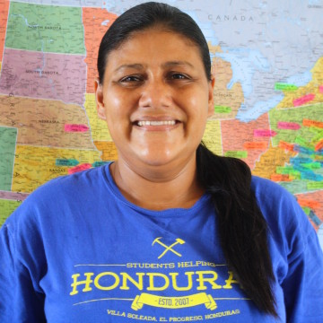 Ingrid Honduran woman organizations helping children