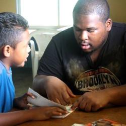 Honduras boy student volunteer teacher overseas