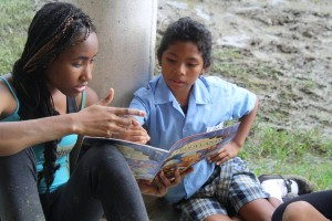 Honduras girl student volunteer teacher overseas