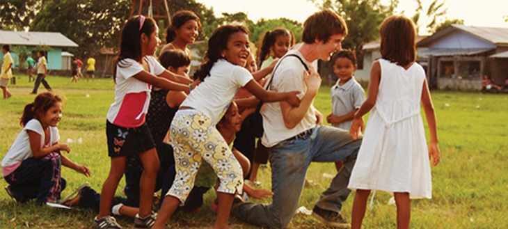 volunteer work abroad with children